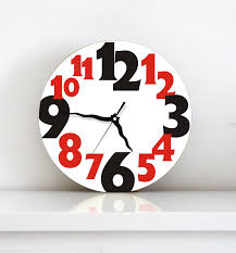 Small Picture Designer Kitchen Wall Clocks Zitzat Elegant Designer Kitchen Wall