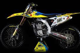 2018 suzuki motorcycles. brilliant motorcycles suzuki unveils the allnew 2018 rmz450ws intended suzuki motorcycles