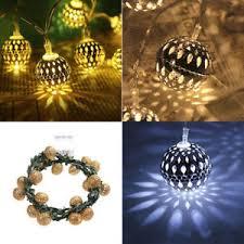 Decorative string lighting Patio Image Is Loading 22mmoroccoballstringfairylightbattery Lightinthebox 22m Morocco Ball String Fairy Light Battery Operated Decorative