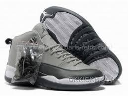Air Jordan 12 Xii Retro Cool Grey Black White Shoes Free Shipping 4yp3hc