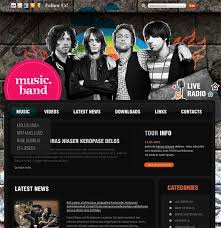 Music Website Templates Mesmerizing 28 Music Website Themes Templates Free Premium Templates