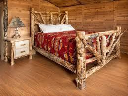 gorgeous unique rustic bedroom furniture set. gorgeous and rustic dream aspen log bed unique bedroom furniture set
