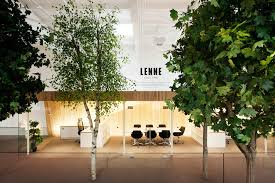 office tree. kamp arhitektid creates treefilled office within former factory tree r