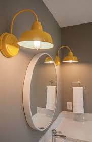 funky bathroom lights: quoti love the lights they were the final touch that this space needed to create a fresh young and modern look in this bathroom