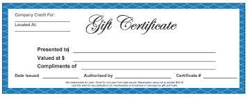 Make Certificates Online Making Gift Certificates Online Online Gift Certificate Template