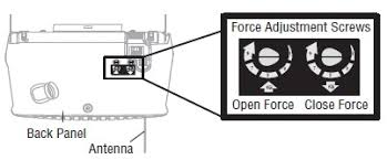 how to adjust garage door openerHow To How to adjust the travel and force limits
