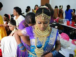 for indian wedding match blings eye makeup that matches the bride s