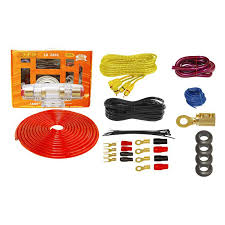 subwoofer wiring kits solidfonts cerwin vega 4 awg amplifier wiring kit