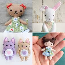 Animal Sewing Patterns Fascinating Felt Toy Sewing Patterns Make Your Own Stuffed Animals Dolls