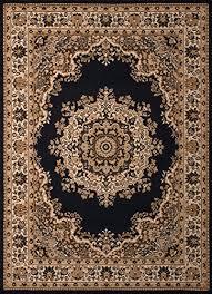 united weavers of america dallas fl kirman rug 8 x 10 black b013vlyw6c