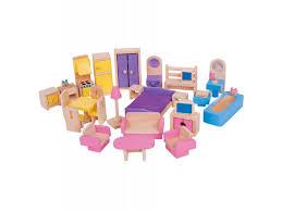 dolls furniture set. Bigjigs Dolls House Furniture Set O