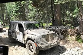 2018 jeep rubicon. fine rubicon new 2018 jeep wrangler jl spotted on rubicon trail to jeep rubicon