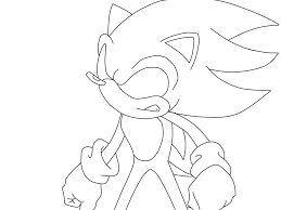 Small Picture Dark Sonic Coloring Pages Coloring Home