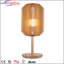 shade with ash wood base table lamp lct tyhb name