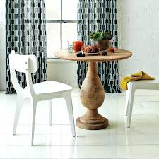 round wood bistro table turned pedestal bistro table west elm set with a round wooden wood home design ideas and wood bistro table set