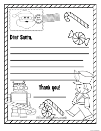 Printable Christmas List Coloring Examples And Forms