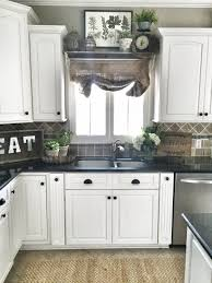 Top of cabinet decorating Elegant Glomorous Lights New Decorating Kitchen Cabinets Ideas Above Exciting Farmhouse Window Decor Learn More Visiting What 911 Save Beans Image 25078 From Post Ideas For Decorating Above Kitchen Cabinets