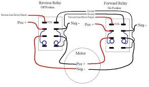 rov joystick for props Dpdt Switch Wiring Diagram To Two Loads dpdt relay wiring with added safty SPDT Switch Wiring Diagram