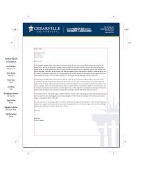 College Letterhead Design Letterhead Margin Guidelines Letterhead Font Names