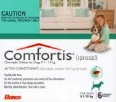 comfortis flea pill for dogs. Comfortis For Dogs 9.1-18kg And Cats 5.5-11.2kg 6 Pack (Green Flea Pill