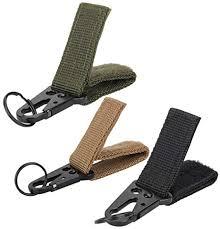 <b>Outdoor Tactical Nylon Webbing</b> MOLLE Buckle Key Hook Hanging ...