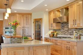 40 ideas for naturally beautiful hickory cabinets in the kitchen kitchen 21 40