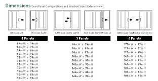 sliding glass door width standard sliding glass door sizes patio door width ingenious 5 sliding glass
