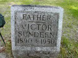 Victor Bernie Sundeen (1890-1950) - Find A Grave Memorial
