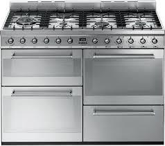 Why Dual Fuel Range Buy Smeg Symphony Syd4110 110 Cm Dual Fuel Range Cooker