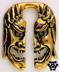 tulsa body jewelry pair of fudo br ear weights by oracle body jewelry