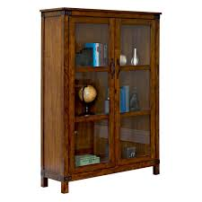 martin home furnishings point reyes wood bookcase