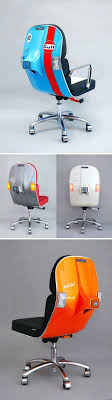 dizzy office furniture. Dizzy Office Furniture Vintage Vespa Parts Recontextualized As Sleek Modern L