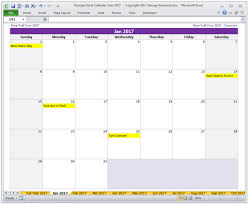 Calendar Templates Custom Year 48 Calendar Excel Templates BuyExcelTemplates