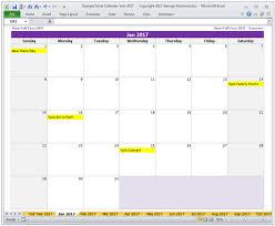 Calendar Templates Custom Year 48 Calendar Excel Templates BuyExcelTemplates