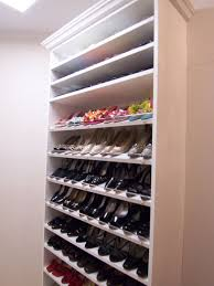 Image of: Shoe rack ideas for large space