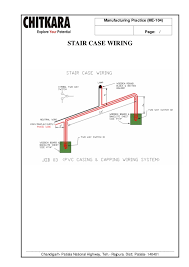 staircase wiring definition staircase image wiring manufacturing practice lab manual b tech mechanical engineering on staircase wiring definition