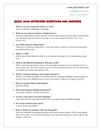 how to answer job interview questions basic java important interview questions and answers to secure a job