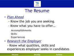 University at Buffalo Career Services Technical Resumes and Cover Letters  Fall 2013