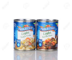 Progresso Light Chicken Noodle Soup Calories Irvine Ca January 05 2014 A Can Of Progresso Light Beef