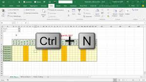 Build An Automatic Calendar With Macro In Excel