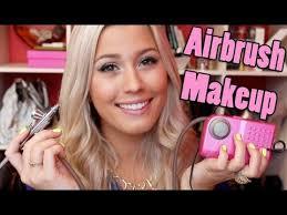 dinair airbrush makeup review demo
