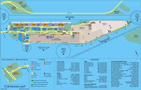 port of miami map