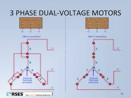 three phase dual voltage motor wiring middle tn rses dual voltage motors1