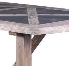 wood rectangular dining table. Industrial Rectangular Dining Table In Wood \u0026 Concrete