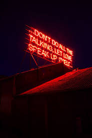 neon lighting for home. 12 months of neon love vday victoria lucas u0026 richard william wheater created lyrical statements in large red neon text on the roof of lighting for home