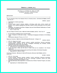 Criminology Resume Template Criminal Justice Resume Uses Summary Section Of The Qualifications 16