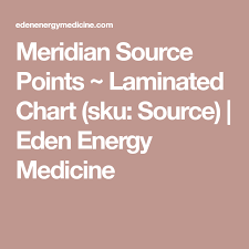 Source Points Chart Meridian Source Points Laminated Chart Sku Source