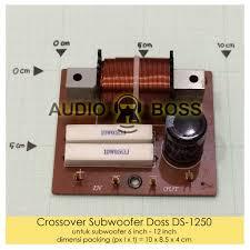 Crossover Subwoofer Doss DS 1250 - Crossover Subwoofer Doss Indoor DS-1250