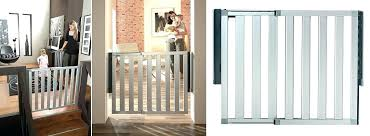 Extra Wide Baby Gate Pressure Mounted Safety Top Of Stairs Baby ...