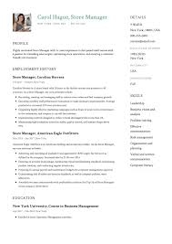 Example Of Manager Resume Store Manager Resume Sample ResumeViking 32
